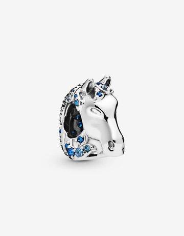 Pandora PANDORA Charm Disney, Frozen Nokk Horse, Blue Crystal & CZ