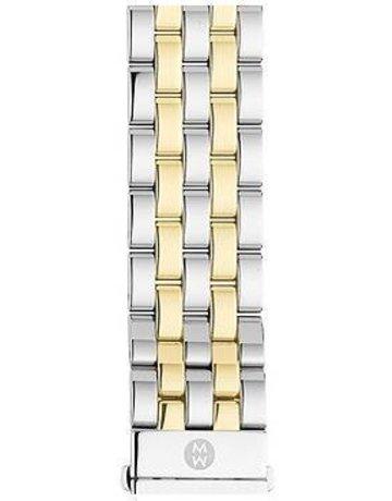 Michele Michele 16mm Urban Mini 5-Link Two-Tone Watch Bracelet