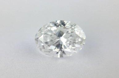 0.71ct E/SI1 (GIA) Oval Cut Diamond