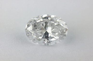 1.00ct D/SI1 (GIA) Oval Cut Diamond