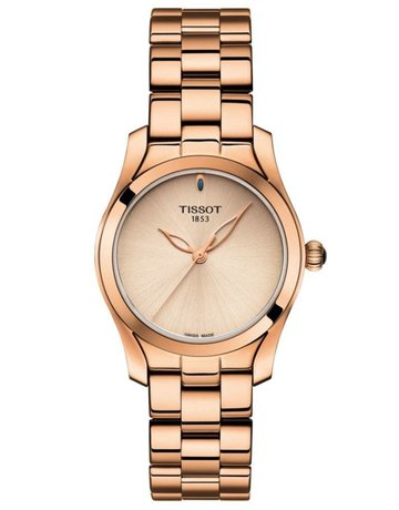 Tissot Tissot T-Lady T-Wave Ladies Rose Tone Watch