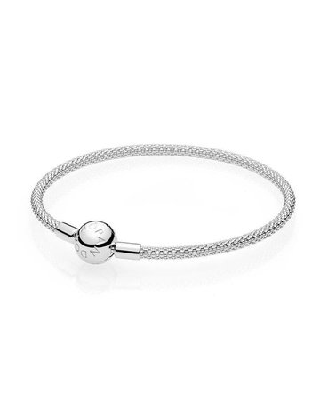 Pandora PANDORA Sterling Silver Mesh Bracelet - 19 cm / 7.5 in