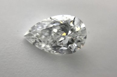 0.83ct E/SI2 Pear Cut Diamond