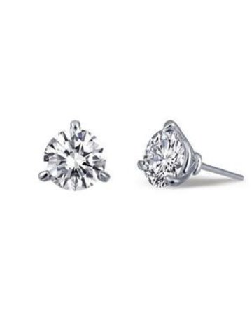 Lafonn Lafonn 0.92cttw 3 Prong Martini Stud Earrings