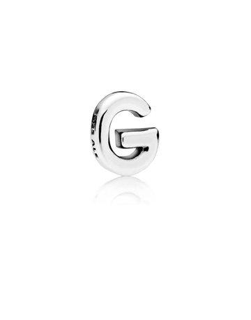 Pandora Retired - PANDORA Letter G Petite Locket Charm