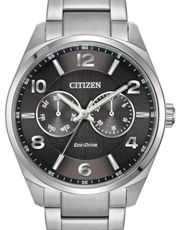 Citizen Citizen Eco-Drive Corso Gents Watch with Black Dial