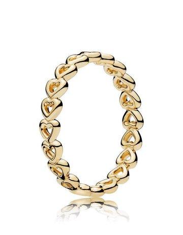 Pandora PANDORA Shine Ring, Linked Love - Size 52