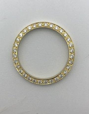 American Jewelry 14k Yellow Gold 5/8ctw Diamond Rolex Bezel (21mm)
