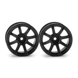 HPI HPI3308  Work Emotion XC8 Wheel, 26mm, Black, 9mm Offset