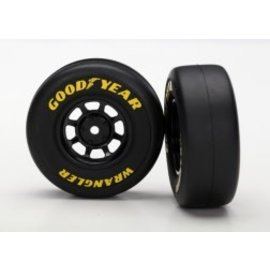 Traxxas TRA7378   1.9 Goodyear Wrangler Tires & Black wheels (2)