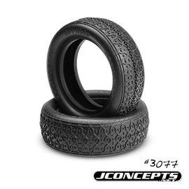 """J Concepts JCO3077-01  Dirt Webs Tires-Blue Compound- Fits 2.2"""" 2WD Front Wheel"""