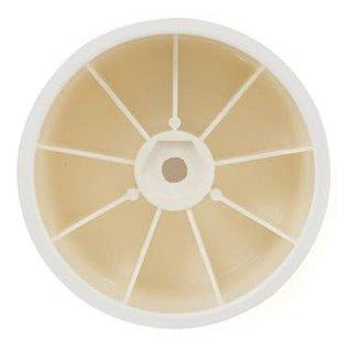 Xray XRA329912  Stadium Truck Wheel Aerodisk with 12mm Hex - White (2)