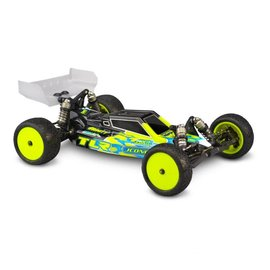 J Concepts JCO0319L  F2 - TLR 22 4.0 Clear Body with Aero S-Type Wing (Lightweight)