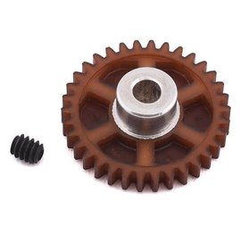 175RC 175-10034  34T Brown Polypro Hybrid 48P Pinion Gear (3.17mm Bore)