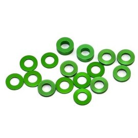 175RC 175-12027 B6/B64/YZ2 Aluminum Hub Spacer Set (Green)