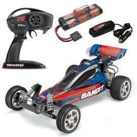 Traxxas TRA24054-1 Blue Bandit 1/10 Extreme Sports Buggy RTR