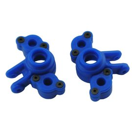 RPM R/C Products RPM73165  Blue Axle Carriers for the Traxxas 1/16th Scale Mini E-Revo & Mini Slash