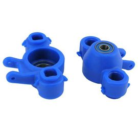 RPM R/C Products RPM80585  Traxxas Revo, T-Maxx 2.5R / 3.3 & E-Maxx 16.8 Axle Carriers & Oversized Bearings-Blue