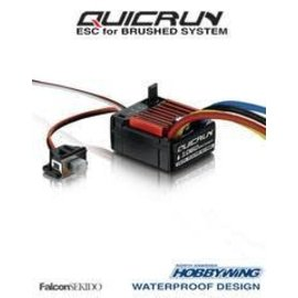 Hobbywing HWA30120201 Quicrun 1/10 Brushed ESC (2-3S)
