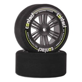 Contact RC Racing Tyres CONJ13774  Contact 30mm  JAP 37 Shore Foam Rear Tires Nitro Sedan 12mm Hex (2)