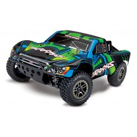 Traxxas TRA68077-4  Green Slash 4x4 Ultimate 1/10 4wd Short Course Race Truck