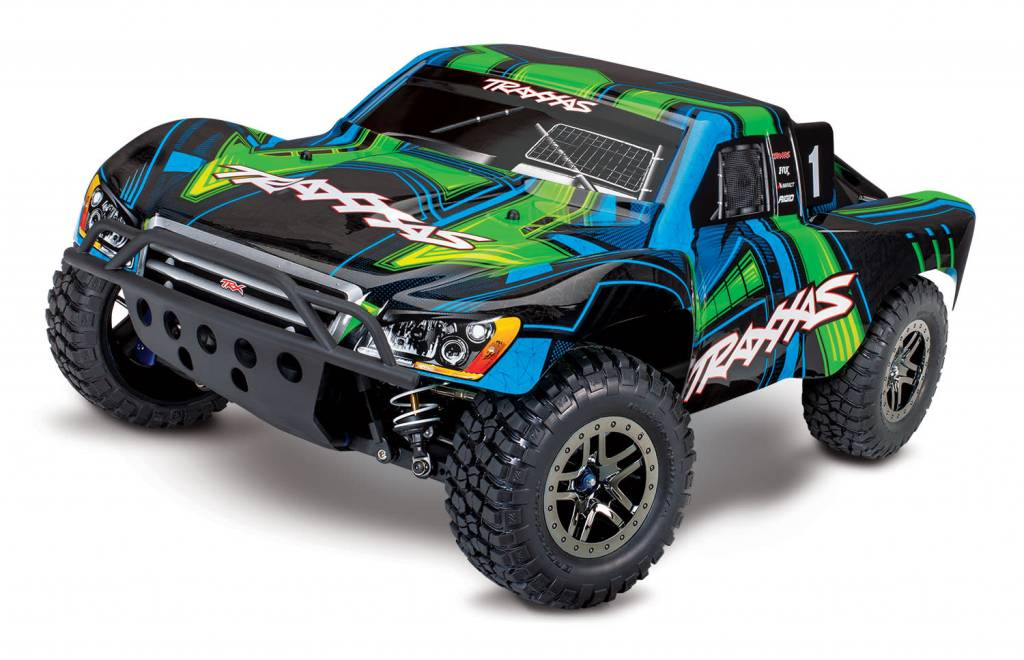 1Pr Set Green Traxxas Slash Pro 2WD Short-Course Truck Upgrade Parts