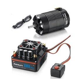 Hobbywing HWA38020406  XeRun XR8 1/8 ESC, w/ G2 4268SD Sensored Motor - Combo (2600KV)