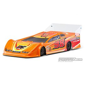 Proline Racing PRM1234-21  Cyclone 9.5 Clear Body for Dirt Oval Late Model