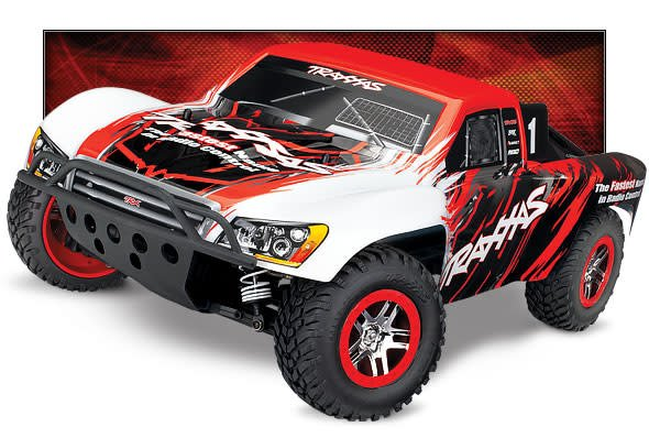 TRA68086-4 RED Slash VXL 1/10 4WD Brushless Power Short-Course Truck