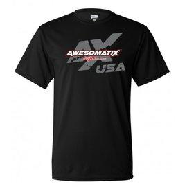 Awesomatix ATS-AMTX-2018-NIP-XL Awesomatix USA Breathable Black T-Shirt - XL