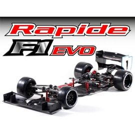 RocheRC USA 151012 Rapide F1 Evo USA Spec 1/10 Competition F1 Car Kit