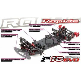 RocheRC USA 151010 Rapide P10 Evo 1/10 200mm Competition Pan Car Kit
