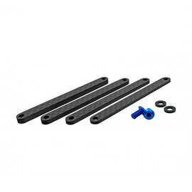 1UP Racing 1UP150137 TC7.2 Carbon Fiber Center Link Set