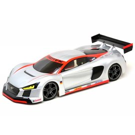Exotek Racing EXO1863 R TEK 1/10 USGT Race Clear Lexan Body, w/ Wing  190mm