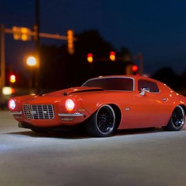 Vaterra VTR03101T1 1972 Chevy Camaro SS V100 RTR 1/10 4WD Electric 4WD On-Road Car (Orange)