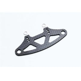 Xray XRA301210  XRAY Graphite Bumper Upper Holder for Adjustable Body Mounts 2.5mm