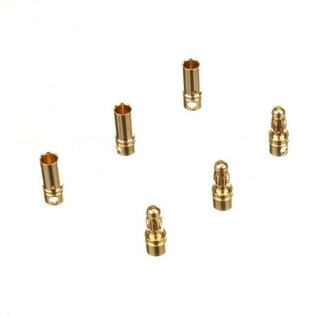 Michaels RC Hobbies Products 002-0603     3.5mm Gold Plated Bullet Connector 3 Pairs