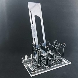 Team EA Motorsports EAM2004  Team EAM Acrylic Setup Station holder Fits Hudy TC & 10th Scale Off road systems