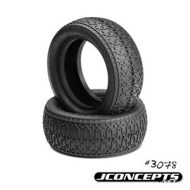 "J Concepts JCO3078-01  Dirt Webs Tires-Blue Compound- Fits 2.2"" 4WD Front Wheel"