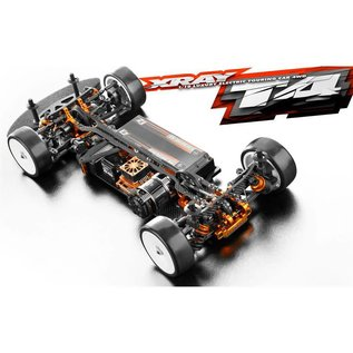Xray XRA300025A  T4 2019 Aluminum Chassis 1/10 Touring Car Kit