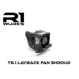 R1wurks R1-60010  T6.1 Layback Fan Shroud 30mm