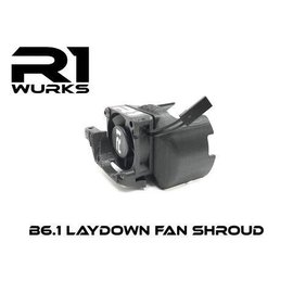 R1wurks R1-60008  B6.1 Laydown Fan Shroud 30mm