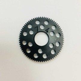 RW RW64P RWPS74  RW Spur Gear 74T 64P Black