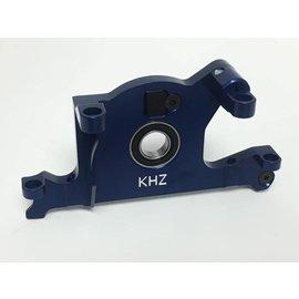 King Headz KHZTRX7461B  Rustler 4×4 Alm Motor Mount Blue