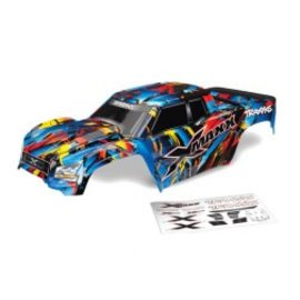 Traxxas TRA7711T  X-Maxx Rock n' Roll Painted Body
