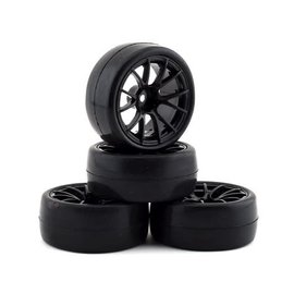 Firebrand RC FBR69240 Firebrand RC Hustler RS Pre-Mounted On-Road Tires (4)