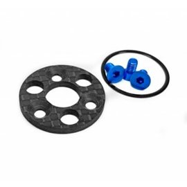 1UP Racing 1UP150135 TC7.2 Center Pulley & Spur Plate Set