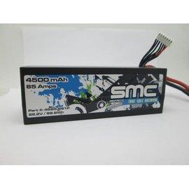 SMC SMC4585-6S1PT  True Spec Premium 22.2V 4500mAh 90C  Traxxas Plugs