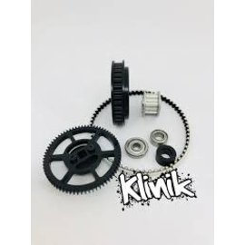 Klinik RC KRC-KCMAX  Roll Over to Zoom in Klinik RC Max Stock Schumacher Cougar KC Conversion Kit (POS 4)