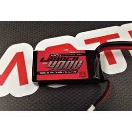 MOTIV MOV2092  Motiv 2S 7.4v 4000mAh 110c LiPo Launch Drag Pack (No Plug)